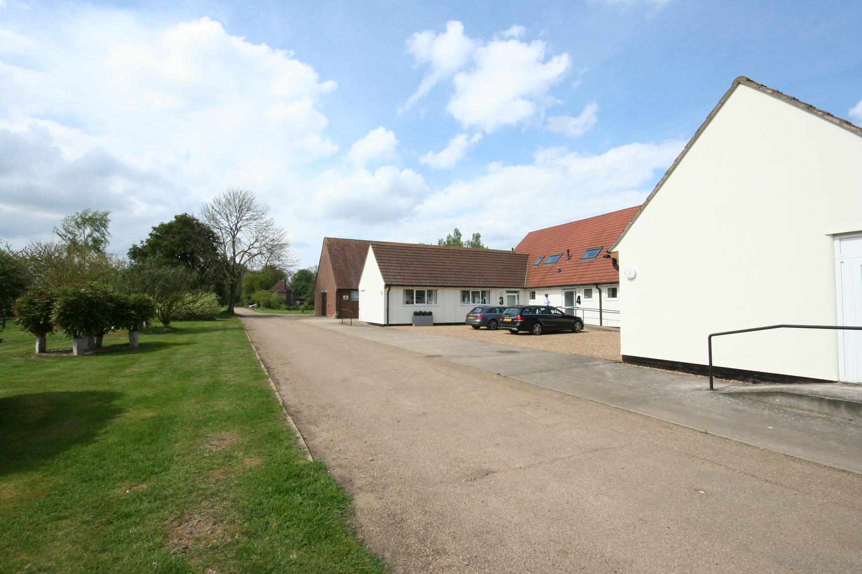 Rural office acquired let and managed